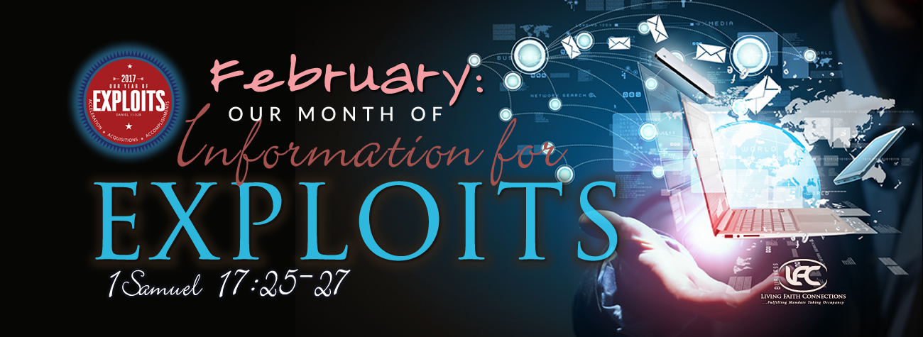 February: Our Month of Information for Exploits